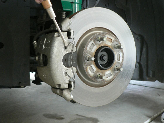 mazda3 howto install front brake pads and rotors. Black Bedroom Furniture Sets. Home Design Ideas